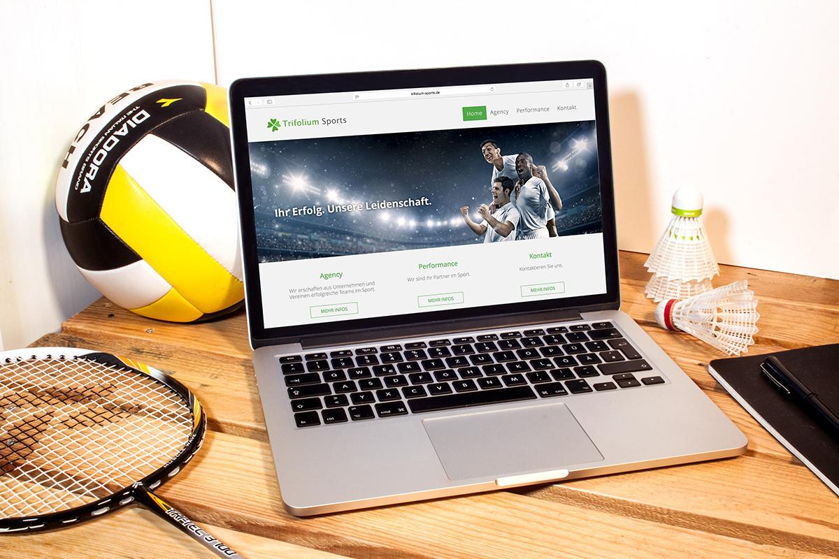 Corporate Design für Trifolium Sports