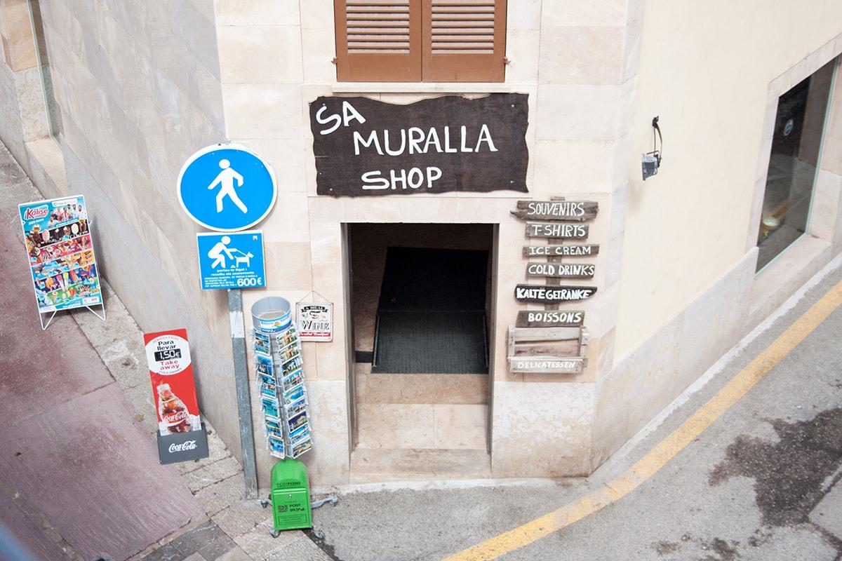 Fotografie. Straßenfotografie. Altstadt auf Mallorca.